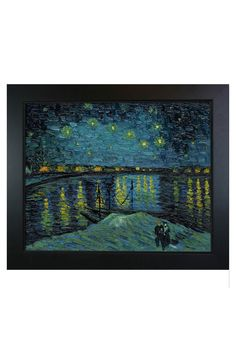 Vincent Van Gogh Starry Night Over The Rhone, Oil On Canvas