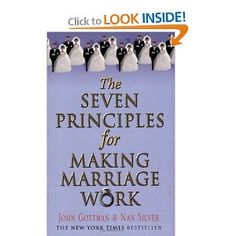 """John M. Gottman, in the book """"The Seven Principles for Making Marriage Work"""", asserts that happy marriages are based upon a """"mutual respect for and enjoyment  of each other's company. These couples tend to know each other intimately – they are well versed in each other's likes, dislikes, personality quirks, hopes, and dreams.  They have    an abiding regard for each other and express this fondness not just in the big ways but the little ways day in and day out."""""""