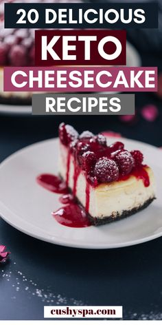 These keto cheesecake recipes are great if you want a ketogenic dessert today! Try these little low carb cheesecakes and don't feel like you're cheating your diet. #ketodiet #ketotips #ketorecipes
