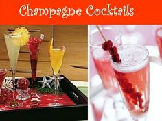 Champagne bar...chambord, rasberries, sugar cubes, triple sec, lemons limes, cranberry juice...and obviously champagne