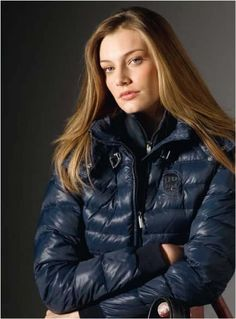 """Peony"" Winter 2014 Equiline in blue"