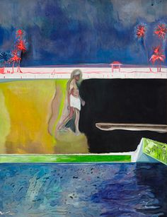 Peter Doig - Exhibition currently on - Edinburgh Art Festival