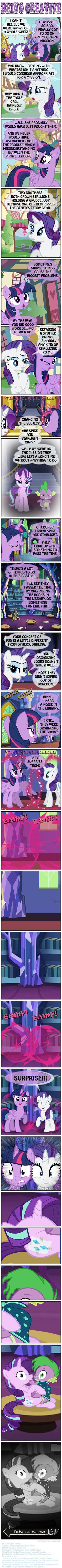 #1374075 - artist:invisibleguy-ponyman, castle, caught, cherry berry, comic, implied shipping, implied sparity, implied starburst, implied straight, jojo's bizarre adventure, kissing, princess twilight, rarity, roleplay, roleplaying, royal riff, shipping, sparlight, spike, starlight glimmer, straight, suggestive, sunburst, to be continued, twilight sparkle - Derpibooru - My Little Pony: Friendship is Magic Imageboard