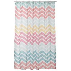 SONOMA life + style Carnivale Chevron Shower Curtain