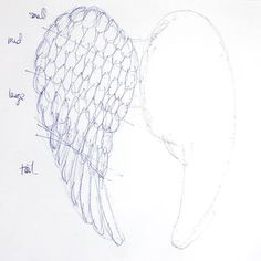 Looking for the perfect way to add Christmas spirit to your home this year? Try this Holiday Angel Wing Tutorial for a gorgeous set of paper wings! Angel Wings Drawing, Angel Wings Painting, Angel Wings Wall Decor, Feather Angel Wings, Angel Decor, Angel Art, Diy Angels, Diy Wings, Angel Crafts