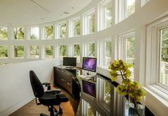 Brookridge Home - Fall 2012 contemporary home office