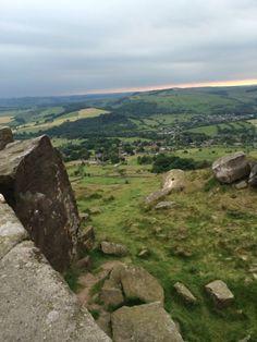 Curbar Edge, The Peak District