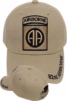 0c8f05a57663d 82nd Airborne Hat With Jump Wings   Insignia - U.S. Army Black ...
