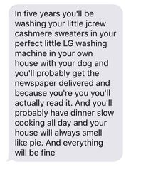 Wait but be careful with your cashmere in the washing machine
