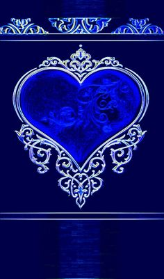 By Artist Unknown. Heart Iphone Wallpaper, Bling Wallpaper, Green Wallpaper, Love Wallpaper, Love Heart, Peace And Love, Blue Wallpapers, Girl Cartoon, Shades Of Blue