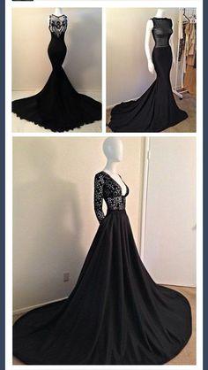 dress prom dress mermaid black mermaid dress black dresses gowns