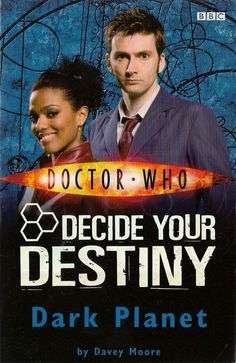 DOCTOR WHO  DARK PLANET by DAVEY MOORE  DECIDE YOUR DESTINY
