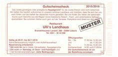 Ullis Landhaus Lübeck Restaurant
