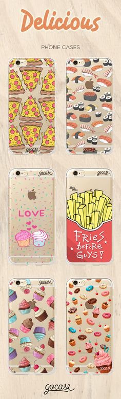 Shop now at: www.shop-gocase.com #phonecases #delicious #phone #pizza #sushi…