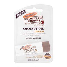 Palmer`s, Coconut Oil Formula Lip Balm (Balsam do ust) - cena, opinie, recenzja Spf Lip Balm, Hydrating Lip Balm, Lip Moisturizer, Raw Coconut, Coconut Oil, Fresh Food Delivery, Healthy Dog Treats, Oils For Skin, Lip Balm