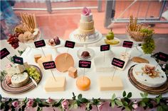 Vendor Credits:  Event Management & Styling: Styled By Belle  Dessert Table, Cheese Station, Chocolate Station; Tea & Coffee Station & Bar styling and setup: Styled By Belle  Floral arrangements: Styled By Belle  Printables Design: Sweet Scarlet Designs  Vintage Tea Cup rental: A Vintage Affair  Cake, cupcakes & cookies: Kylie Bourban  Macarons: La Belle Miette  Tissue Pom Poms: Ah-Tissue