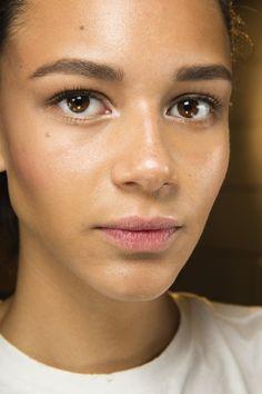 Spring/Summer 2015: Shiny Skin Beauty Trend (Vogue.co.uk)