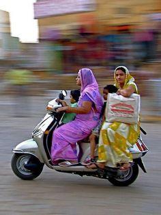 17. Vrooom! The bike was  headed towards Preejah