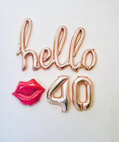 Rose Gold Hello 30 Balloon Decoration for Birthday Party 25th Birthday Parties, 21st Birthday Decorations, 30th Party, Happy 21st Birthday, Birthday Bash, Gold Birthday, Thirty Birthday, Cake Birthday, 21st Birthday Outfits
