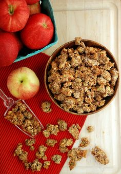 Apple Pie Paleo Granola