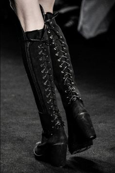 Triton Fall 2015 lace up boots