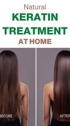 How to do Keratin Treatment at Home Naturally