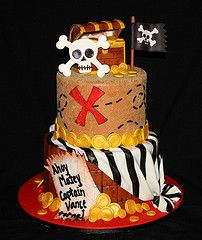 *any* boy would love this cake!