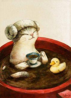 Recicla el té usado para cuidar a tus mascotas +info http://www.iloveteacompany.com/2015/03/cuida-tus-mascotas-con-te.html