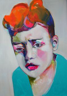 "Saatchi Art Artist Patricia Derks; Painting, ""Sadly"" #art"