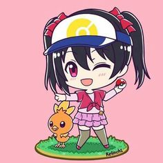 Nico Yazawa Pokémon Trainer