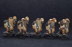 Loyalist Death Guard Legion Breacher Squad - Half view