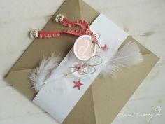 Samey Atelier Farbstil: ♥ Zur Taufe ♥ Blog, Scrap, Gift Wrapping, Inspiration, Gifts, Paper Mill, Atelier, Invitation Cards, Invitations