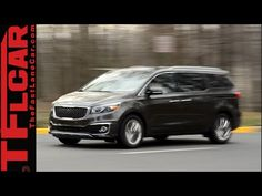 2015 KIA Sedona Review: The Unminivan for those who need but don't want a Minivan - YouTube