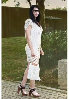 """""""Vanila"""" POUCH CLUTCHE Clutches, Lace Skirt, White Dress, Pouch, Skirts, Dresses, Fashion, Vestidos, Moda"""