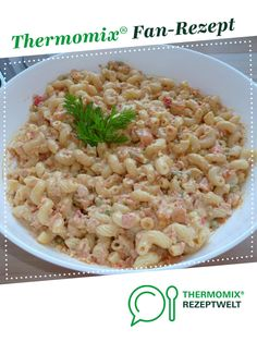 Ein Thermomix ® Rezept aus der Kategori… mega-sweet pasta salad from Mia. A Thermomix ® recipe from the category appetizers / salads www.de, the Thermomix® Community. Healthy Party Snacks, Healthy School Snacks, Healthy Snacks For Adults, Healthy Appetizers, Appetizers For Party, Simple Appetizers, Appetizer Salads, Appetizer Recipes, Salad Recipes
