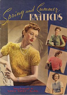 """1940s """"Knitteds"""""""