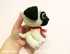 Baby Pug Dog crochet pattern by Amigurumi Today