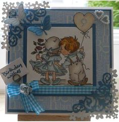 By Rita Vernimmen  LOVE THESE LILLY OF THE VALLEY STAMPS