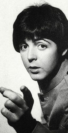 """Paul McCartney. My First Boyfriend  """"I want to hold your hand."""""""