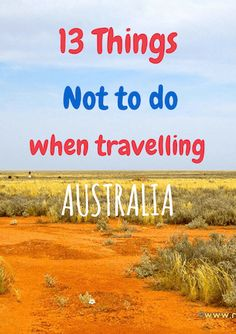 tips show you how to save money on your trip and wht things not to do when visiting Australia on a budget.These tips show you how to save money on your trip and wht things not to do when visiting Australia on a budget. Tasmania Australia, Australia 2018, Visit Australia, Melbourne Australia, Travel To Australia, Study Abroad Australia, Australia Honeymoon, South Australia, Western Australia