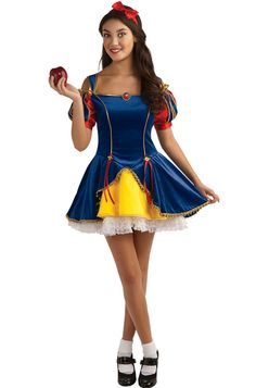 Snow White Teen Costume for Halloween - Pure Costumes