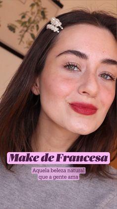 Clean Makeup, Simple Makeup, Skin Makeup, Makeup Art, Natural Makeup, Makeup Tips, Make You Up, How To Make Hair, Skin Care Spa
