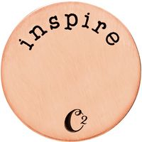 Rose gold inspire plates