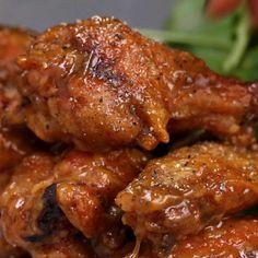 Baked Honey Mustard Wings Recipe by Tasty
