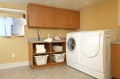 Most Popular Basement Laundry Room Ideas