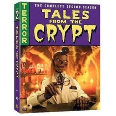 nice TALES FROM THE CRYPT COMPLETE SEASON 2 New Sealed 3 DVD Set - For Sale