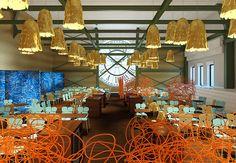 O design dos irmãos Campana conquista Paris: a dupla foi convidada para repaginar o Café de l'Horloge, dentro da antiga estação d'Orsay, na capital francesa. Com visual novo, o espaço será reinaugurado no próximo dia 20 de outubro