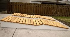 Outdoor Living: How To Build A Modern Adirondack Chaise Lounge. Part One