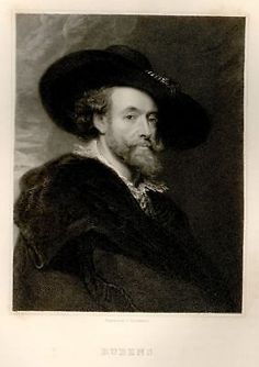 Gallery of Portraits -1834- RUBENS - Engraving