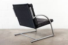 Gerard Van Den Berg Chrome Armchair
